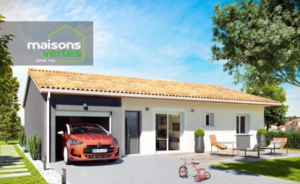Maison+Terrain à vendre .(80 m²)(PORT LA NOUVELLE) avec (MAISONS VERTES DE L AUDE - AGENCE DE NARBONNE)