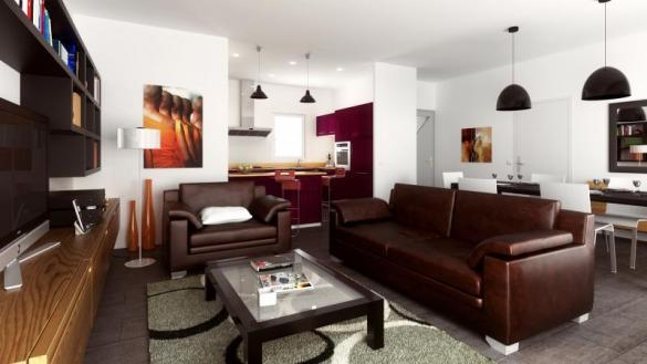 Maison+Terrain à vendre .(89 m²)(BESSAN) avec (MAISONS VERTES)