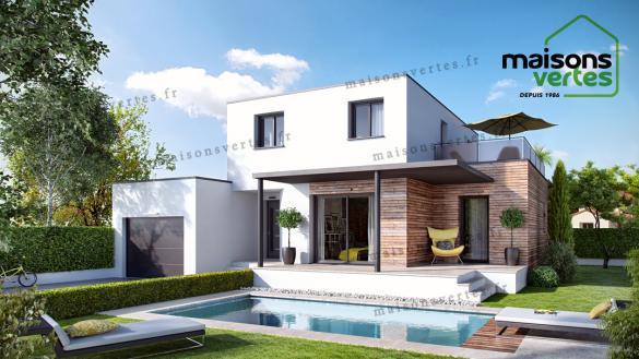 Maison+Terrain à vendre .(130 m²)(SERIGNAN) avec (MAISONS VERTES)