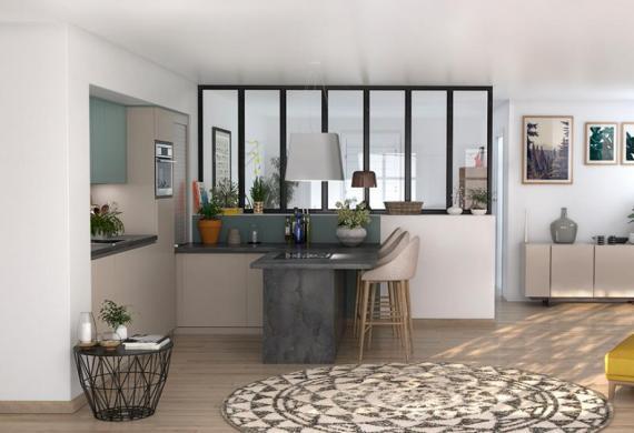 Maison+Terrain à vendre .(73 m²)(CAPESTANG) avec (MAISONS VERTES)