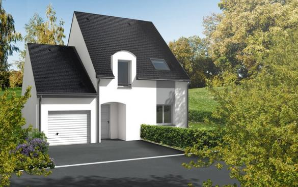 Maison+Terrain à vendre .(95 m²)(ECUILLE) avec (CARRENEUF CONSTRUCTION - AGENCE D ANGERS)