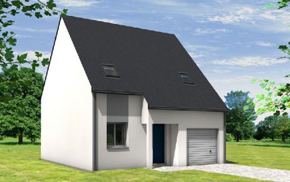 Maison à vendre .(95 m²)(NEUILLE) avec (CARRENEUF CONSTRUCTION - AGENCE D ANGERS)