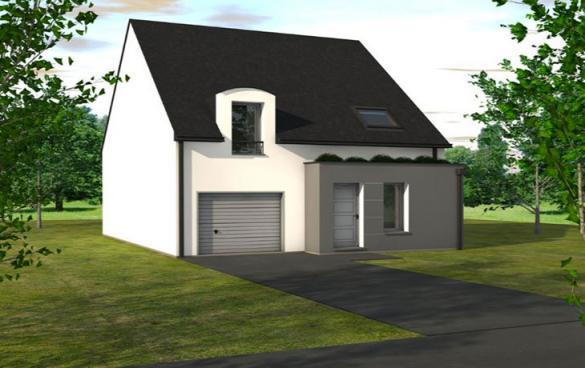 Maison à vendre .(100 m²)(SAINT CYR EN BOURG) avec (CARRENEUF CONSTRUCTION - AGENCE D ANGERS)