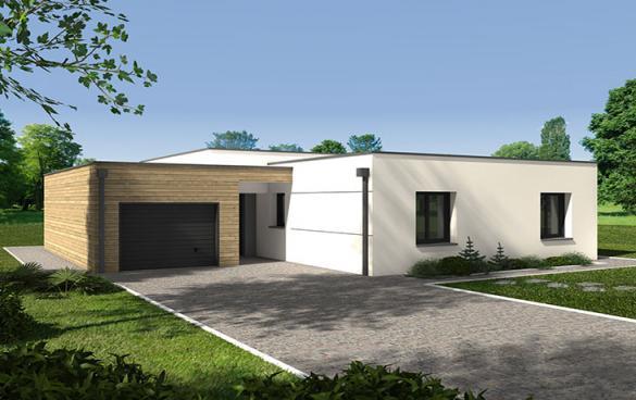 Maison à vendre .(89 m²)(LA TOURLANDRY) avec (CARRENEUF CONSTRUCTION - AGENCE D ANGERS)
