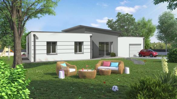 Maison à vendre .(85 m²)(VEZINS) avec (CARRENEUF CONSTRUCTION - AGENCE D ANGERS)