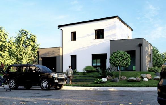 Maison+Terrain à vendre .(112 m²)(BAUGE) avec (CARRENEUF CONSTRUCTION - AGENCE D ANGERS)