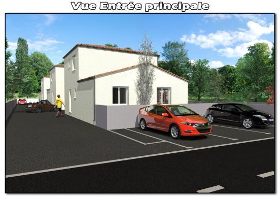Maison à vendre .(100 m²)(LIGNAN SUR ORB) avec (CAP CONSTRUCTION)
