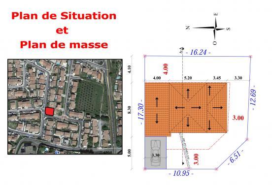 Maison à vendre .(92 m²)(BEZIERS) avec (CAP CONSTRUCTION)