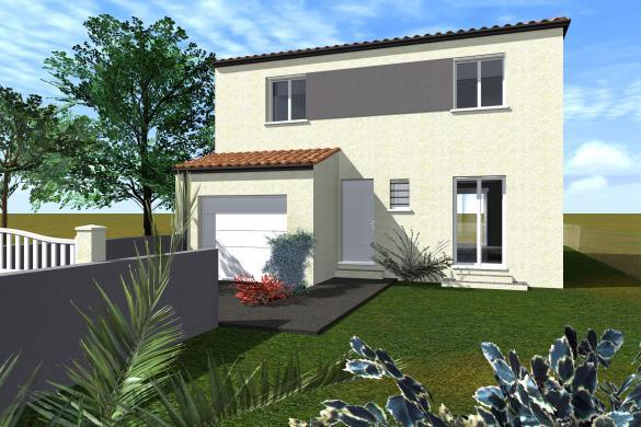 Maison à vendre .(120 m²)(LIEURAN LES BEZIERS) avec (CAP CONSTRUCTION)