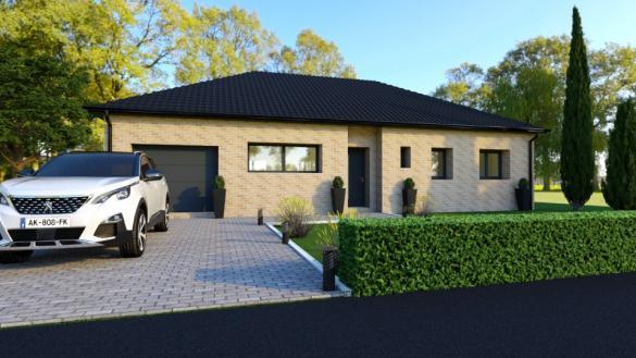 Maison+Terrain à vendre .(110 m²)(SERANVILLERS FORENVILLE) avec (MAISONS FRANCE CONFORT)