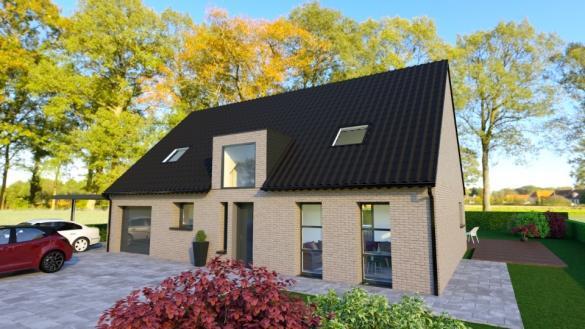 Maison+Terrain à vendre .(110 m²)(HOYMILLE) avec (MAISONS FRANCE CONFORT)