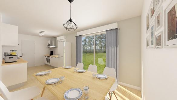Maison+Terrain à vendre .(88 m²)(BEAUVAIS) avec (MAISONS PHENIX)