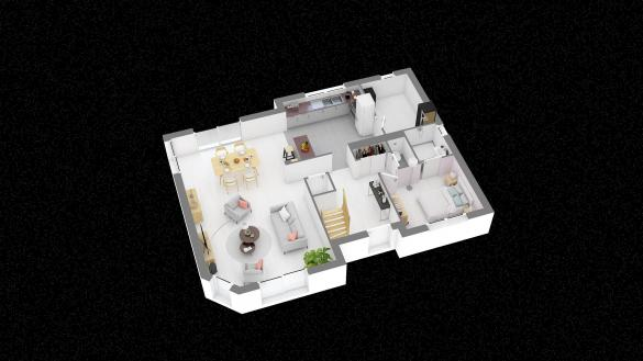 Maison+Terrain à vendre .(123 m²)(PAVILLY) avec (HABITAT CONCEPT BOOS)