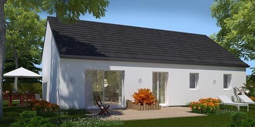 Maison+Terrain à vendre .(99 m²)(LE BOSC ROGER EN ROUMOIS) avec (HABITAT CONCEPT)