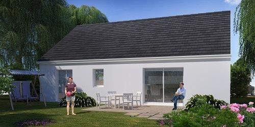 Maison+Terrain à vendre .(90 m²)(MESNIL RAOUL) avec (HABITAT CONCEPT BOOS)