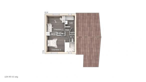 Maison+Terrain à vendre .(95 m²)(CASTELNAUDARY) avec (LES MAISONS DE MANON)