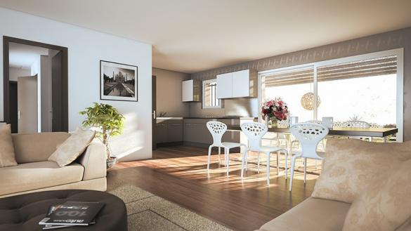 Maison+Terrain à vendre .(90 m²)(MAS SAINTES PUELLES) avec (LES MAISONS DE MANON)