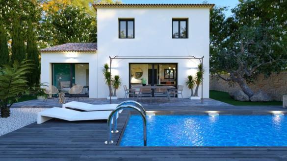 Maison à vendre .(90 m²)(GREASQUE) avec (VILLAS PRISME)