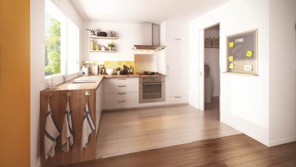 Maison+Terrain à vendre .(95 m²)(BREUILLET) avec (MAISON FAMILIALE VILLE DU BOIS)