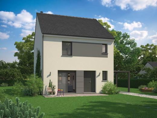 Maison+Terrain à vendre .(85 m²)(BREUILLET) avec (MAISON FAMILIALE VILLE DU BOIS)