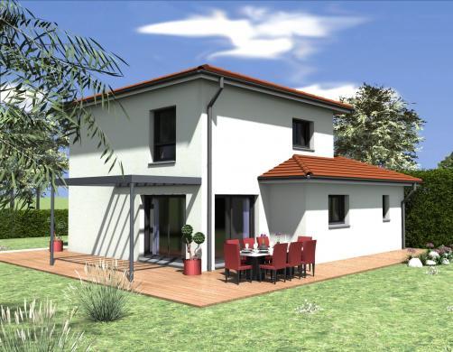 Maison à vendre .(97 m²)(VOIRON) avec (BATISSIMO)