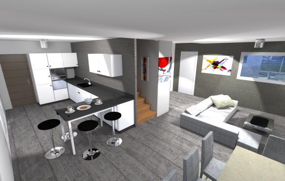 Maison à vendre .(116 m²)(VOIRON) avec (BATISSIMO)