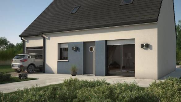 Maison+Terrain à vendre .(76 m²)(CHATEAU THIERRY) avec (MAISONS BALENCY)