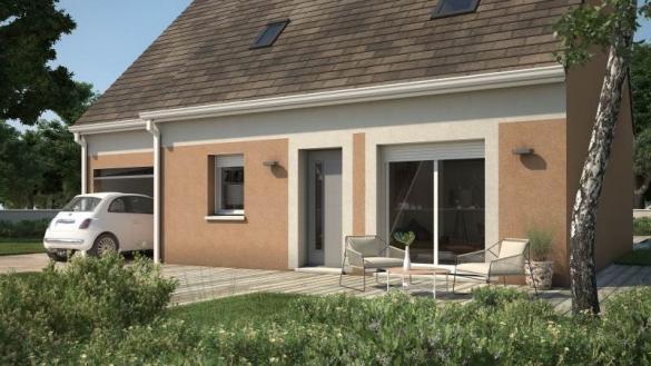 Maison+Terrain à vendre .(76 m²)(MORTCERF) avec (MAISONS FRANCE CONFORT)