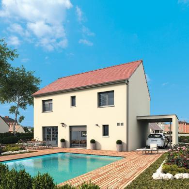 Maison+Terrain à vendre .(140 m²)(MOISSY CRAMAYEL) avec (MAISONS FRANCE CONFORT)