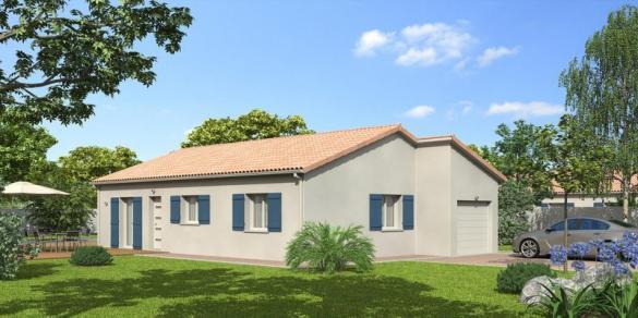 Maison à vendre .(86 m²)(FEURS) avec (MR Construction)