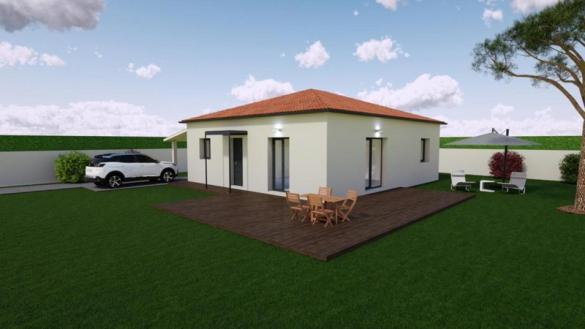 Maison à vendre .(85 m²)(FEURS) avec (MR Construction)