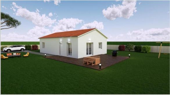 Maison à vendre .(84 m²)(FEURS) avec (MR Construction)