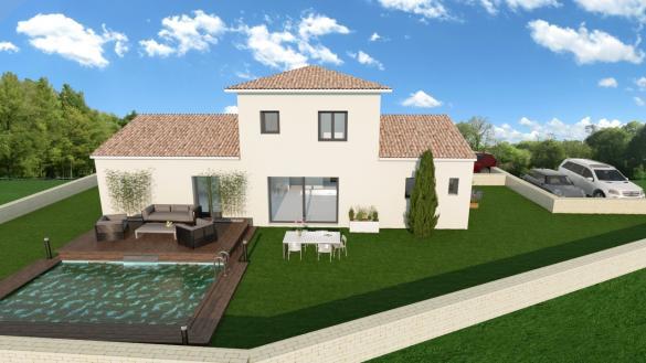 Maison+Terrain à vendre .(130 m²)(PIERREFEU DU VAR) avec (LES MAISONS DU MIDI)