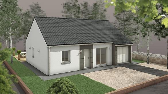 Maison+Terrain à vendre .(71 m²)(EU) avec (EXTRACO)