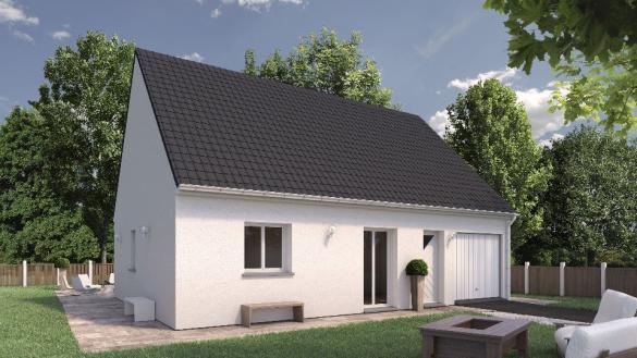 Maison+Terrain à vendre .(67 m²)(EU) avec (EXTRACO)