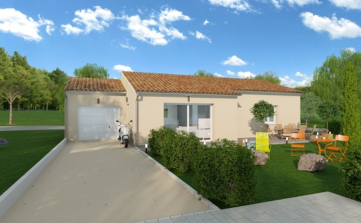 Maison+Terrain à vendre .(90 m²)(LORIOL SUR DROME) avec (MAISONS ARLOGIS VALENCE)