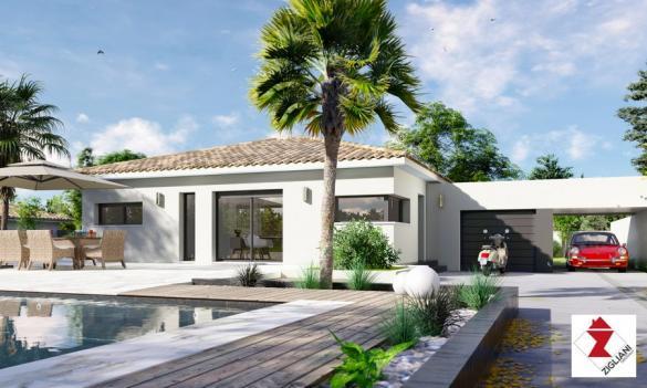 Maison à vendre .(90 m²)(SAINT DREZERY) avec (ZIGLIANI BATISSEUR)