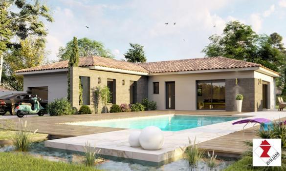 Maison à vendre .(102 m²)(MONTPEYROUX) avec (ZIGLIANI BATISSEUR)