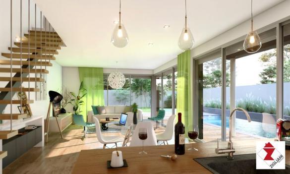 Maison à vendre .(120 m²)(POUSSAN) avec (ZIGLIANI BATISSEUR)