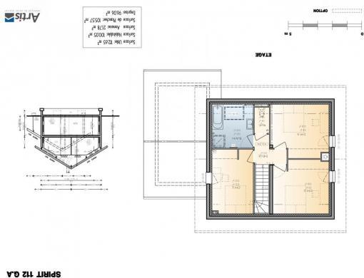 Maison+Terrain à vendre .(112 m²)(SAINT ALBAN DES HURTIERES) avec (ARTIS)