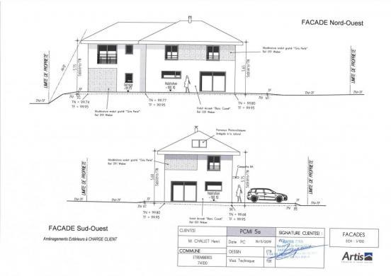 Maison+Terrain à vendre .(141 m²)(ETREMBIERES) avec (ARTIS)