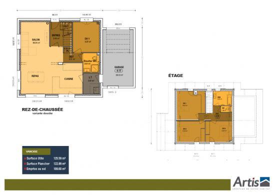 Maison+Terrain à vendre .(115 m²)(FAVERGES) avec (ARTIS)