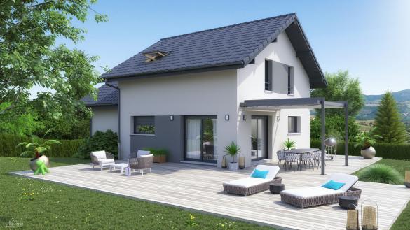 Maison+Terrain à vendre .(121 m²)(PERS JUSSY) avec (ARTIS)