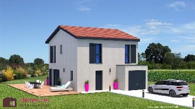 Maison à vendre .(95 m²)(SAINT SORLIN DE VIENNE) avec (DEMEURES RHONE ALPES)