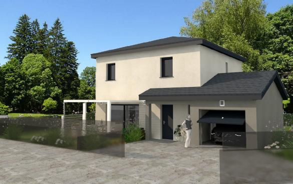 Maison à vendre .(110 m²)(VETRAZ MONTHOUX) avec (DEMEURES RHONE ALPES)