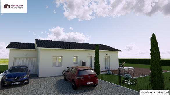 Maison à vendre .(121 m²)(CHATILLON SUR CHALARONNE) avec (DEMEURES RHONE ALPES)