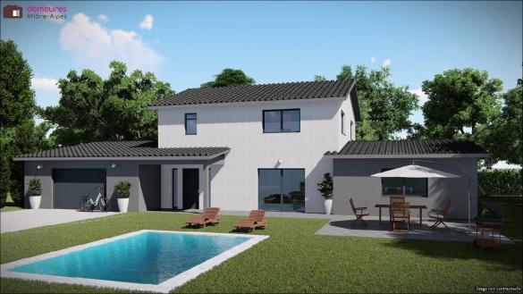Maison à vendre .(134 m²)(CHALEINS) avec (DEMEURES RHONE ALPES)