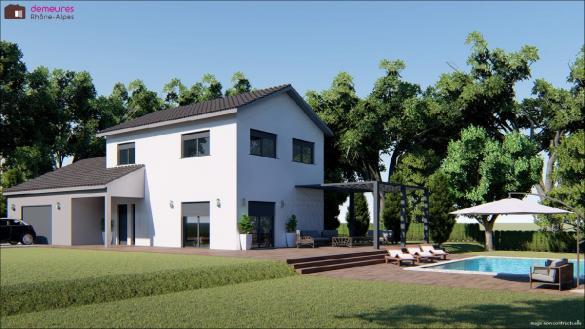Maison à vendre .(126 m²)(VERIN) avec (DEMEURES RHONE ALPES)