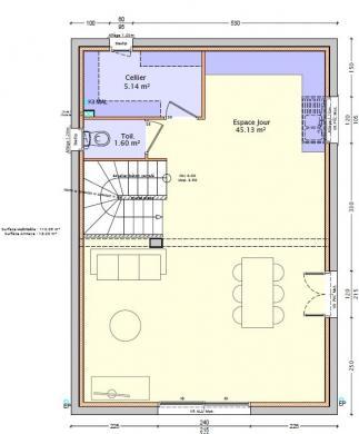 Maison à vendre .(500 m²)(FRANS) avec (DEMEURES RHONE ALPES)