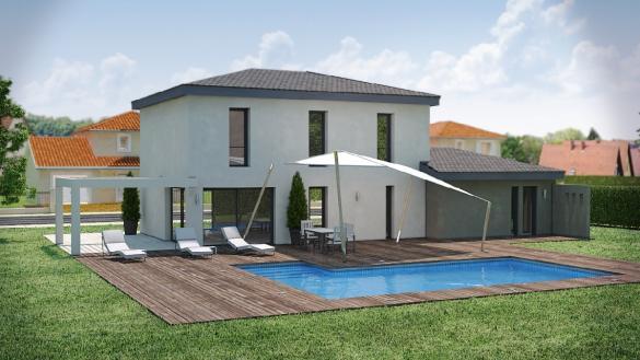Maison à vendre .(120 m²)(MEYZIEU) avec (DEMEURES RHONE ALPES)